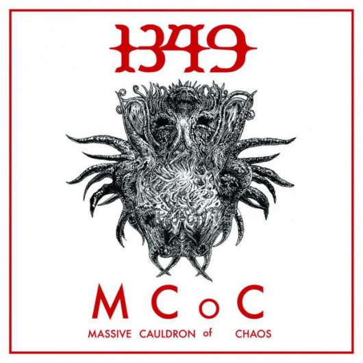 1349 Massive Cauldron of Chaos Album Cover
