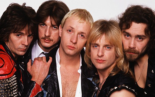 Judas Priest 80s Band photo