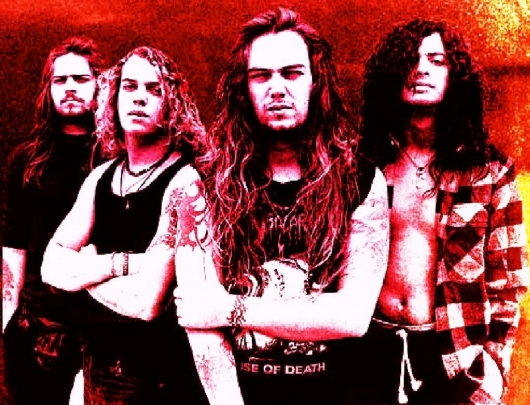Sepultura Band Phot with Max and Igor
