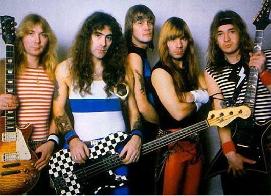 Iron Maiden Band Photo