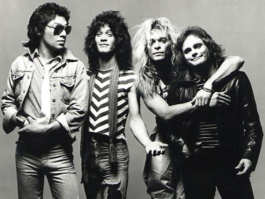Van Halen Band Photo