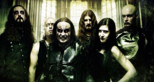 Cradle of Filth Band Photo 2015